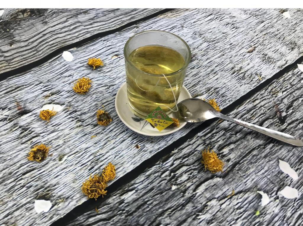 Trà Hoa Cúc Túi Lọc Thiên Bằng - 100% Hoa Cúc Tự Nhiên Việt Nam.