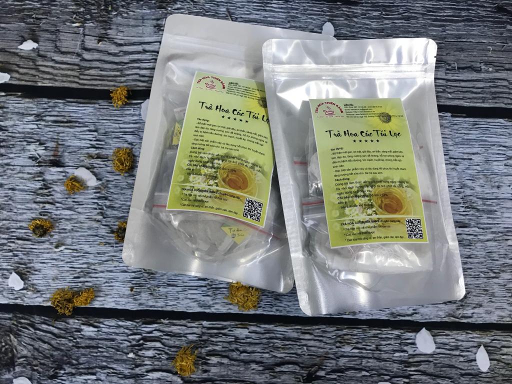 Trà Hoa Cúc Túi Lọc Thiên Bằng - Túi 40 Gói x 2gram.