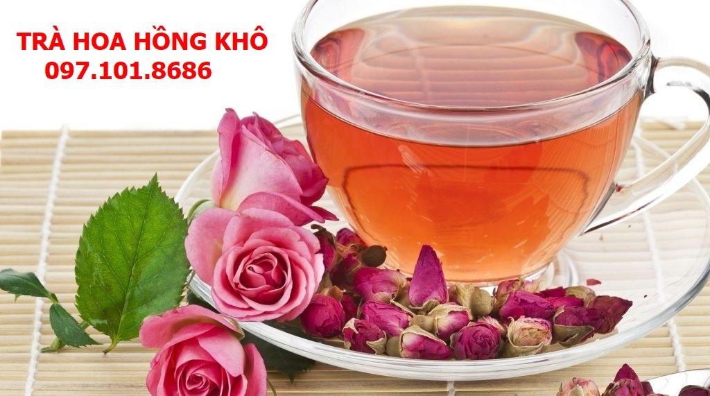 Trà Hoa Hồng Khô Nguyên Bông Hảo Hạng - Thảo Dược Quý Từ Thiên Nhiên.